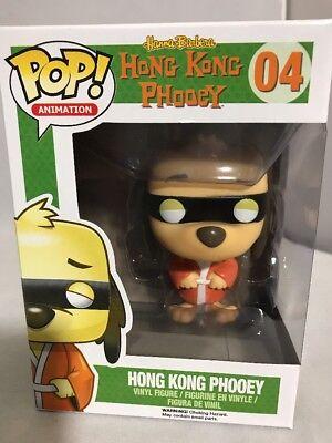 Funko Pop Hong Kong Phooey Hanna Barbera Vaulted Rare Vinyl Figure
