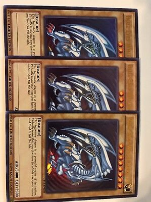 3x Blue-Eyes White Dragon - CT13-EN008 - Ultra Rare - M/NM Yugioh