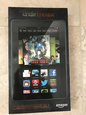 Amazon Kindle Fire HDX 7 (3rd Generation) 32GB, Wi-Fi, 7in - Black (Kindle Fire Hdx 7 32gb)