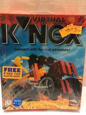 Virtual Knex  Windows Cd Rom   Windows 3 X  Free Shipping