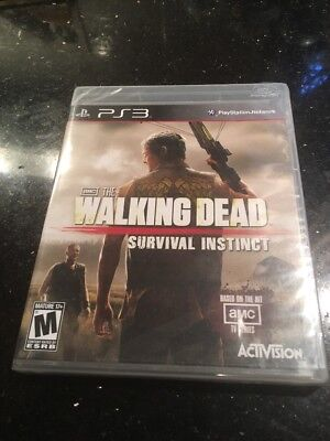 The Walking Dead: Survival Instinct PS3 PlayStation 3  Brand New Factory Sealed for sale  Shipping to Canada
