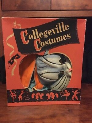 Collegeville Costumes Bugs Bunny Original Box Halloween Youth L 100% w/ Mask - Bugs Bunny Halloween Costumes