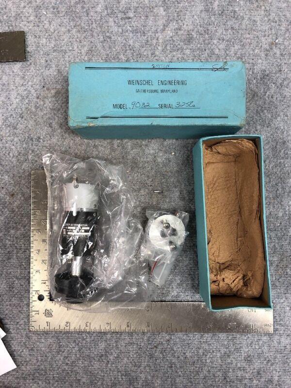 Weinschel Step Attenuator Model 9032. NOS. Rare Part