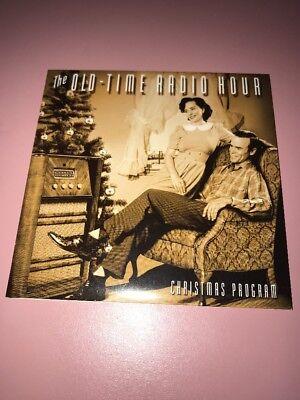 The Old-Time Radio Hour Christmas Program CD George Burns Bing Crosby Show Demo ()
