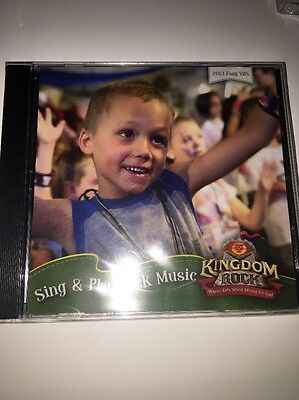 Kingdom Rock Sing And Play Rock Music CD 2013 Easy VBS Sealed NEW ](Kingdom Rock Vbs)