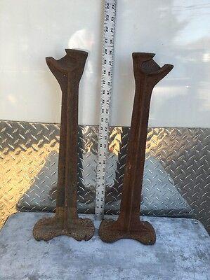 VTG Cast Iron Shoemaker Cobbler Anvil Shoe Ohio New Jersey Store Garden (Jersey Garden Stores)