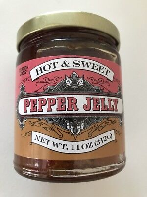 VALUE 2 PACK Trader Joe's Hot and Sweet Pepper Jelly 11oz,