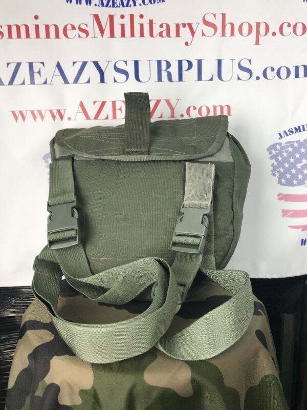 US Military Tactical Drop-Leg Gas Mask Pouch & Respirator Carrier - Avon - EUC