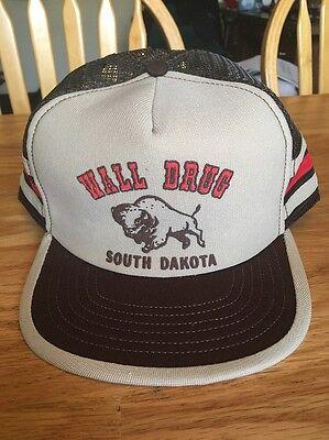 Vintage Wall Drug South Dakota Mesh Hat!