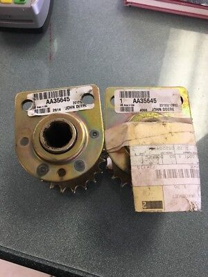 Two Aa35645 Bearing With Sprocket For John Deere 1710 1780 7200 7300 Planters