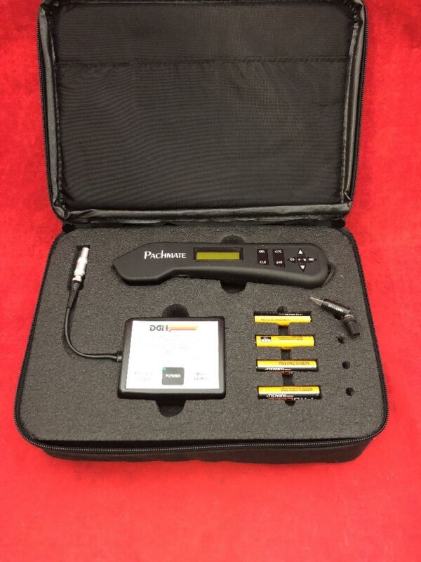 DGH 55 Pachymeter Pachmate w/DGH 55 Pachmate CalBox & Case See Listing