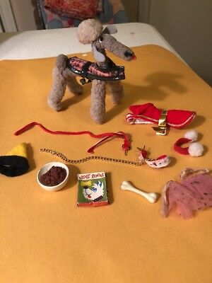 Vintage BARBIE DOLL clothing  DOGS N DUDS # 1613 COMPLETE SET 1964