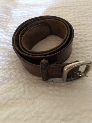 Henry Beguelin Leather Belt 75 cm