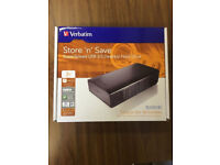 3TB Hard Drive, USB 3.0 - Black, Brand New Unopened in a box