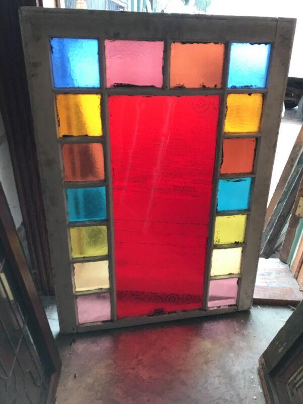SG 1597 antique queen Anne Window 28.5 x 40