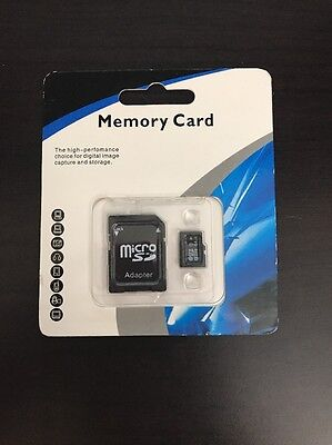 NEW 64GB Micro SD Memory Card TF Flash Class 10 with SD Adapter SALE!