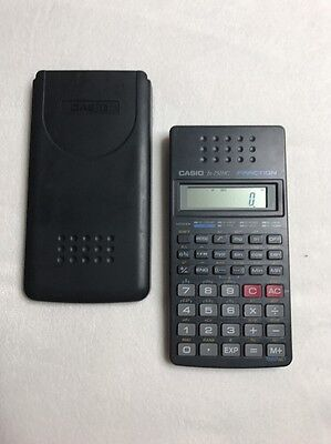 Calculator Electronic Casio Fx 250Hc Fraction Business Scientific Tested Working