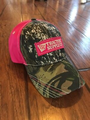 Tsc Tractor Supply Company Pink Camo Women S Ladies Country Girl Hat Cap Farm