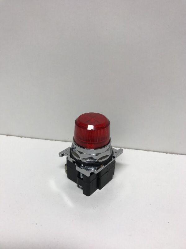 CUTLER-HAMMER RED INDICATING LIGHT 10250T/91000T 120V RESISTOR
