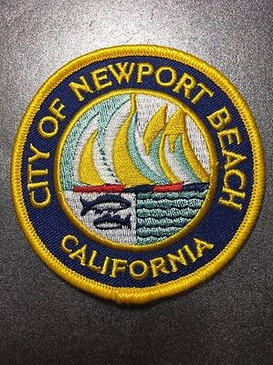 """City Of Newport Beach Orange County California High-Quality Embroidered Patch 3"""""""
