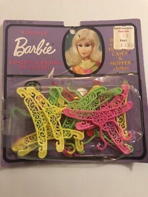 Vintage Lot of Francie & Skipper Doll Clothes Hangers - Barbie's Cousin