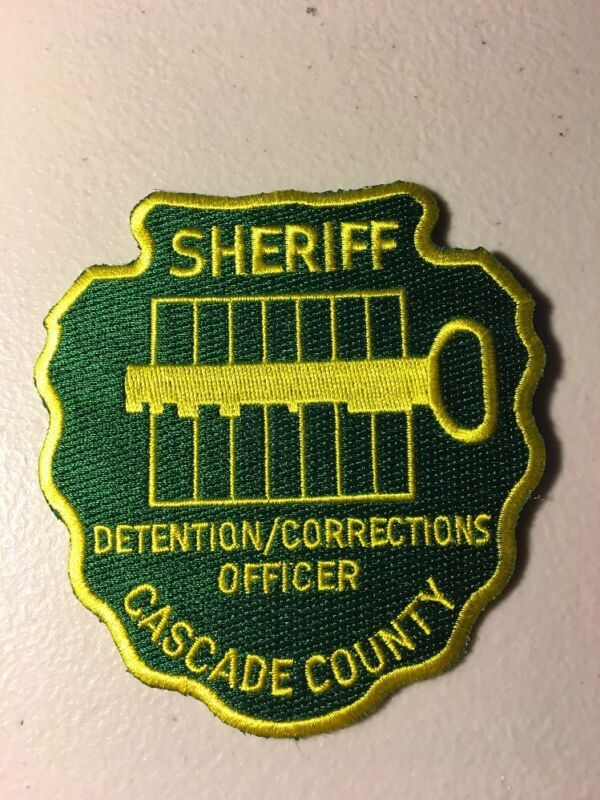 Cascade County Montana Sheriff Dept Detention Officer Corrections Police Patch