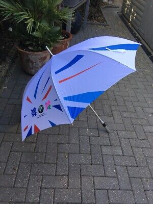 Genuine London Paralympics BMW Sponsered 130cm Large Automatic Umbrella New