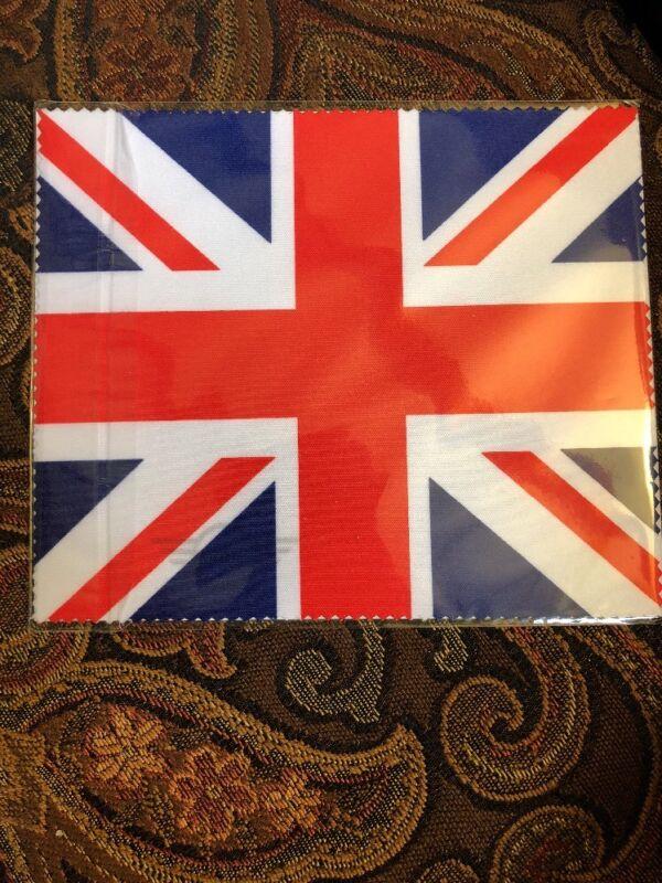 NEW MINI COOPER MICROFIBER CLEANING CLOTH  Union Jack Flag