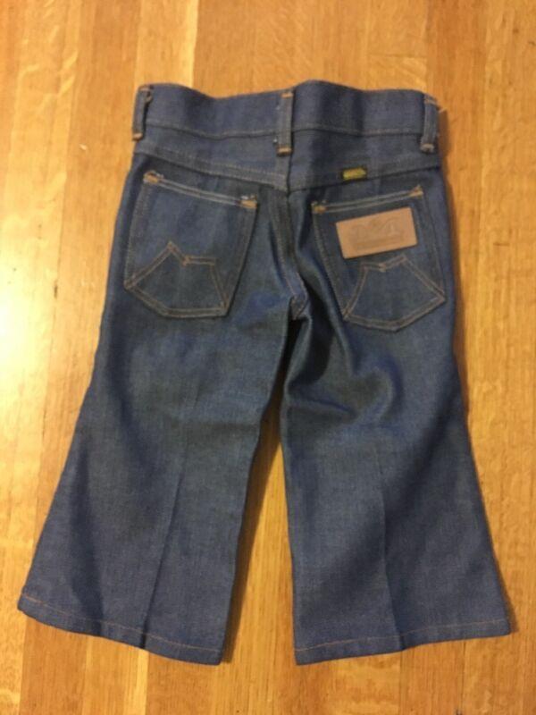 Vintage Blue Bell Denim Maverick Jeans Toddler Size 2 2T USA Made Dark Wash
