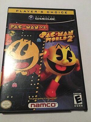Pac-Man vs./Pac-Man World 2 (Nintendo GameCube, 2003) Complete