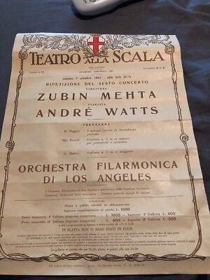 Teatro Alla Scala 1967