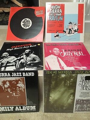 High Sierra Jazz Band Lot Of 6 Records LP Albums FREE S/H