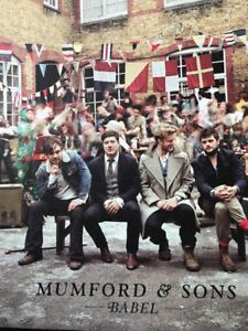 MUMFORD & SONS 'BABEL' VINYL LP  - BRAND NEW AND SEALED