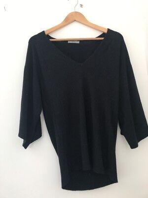 Ladies Top Marks And Spencer Size Size 10 Knitwear Short Sleeve <JJ2452