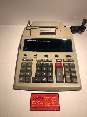 Innovera Ivr-15990 Heavy Duty Two Color Printing Calculator 12 Digit W Memory
