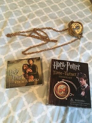 HARRY POTTER TIME TURNER & STICKER - Harry Potter Kit