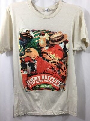 1ee5d263 Jimmy Buffett 2014 This One's For You Tour Tee Shirt Size Medium Parrot Head