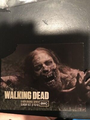 SDCC COMIC CON 'Bicycle Girl' The Walking Dead Promo Card - Girl Walking Dead