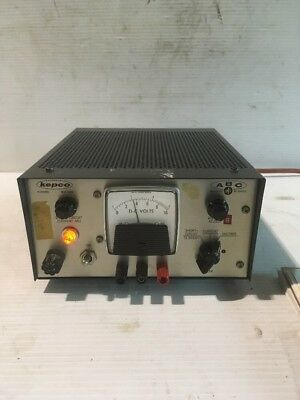 Kepco Dc Regulated Power Supply Abc 7.5-2 H21
