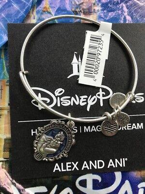 Disney Alex And Ani Villains URSULA Silver Bracelet Diabolically Devious NEW