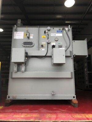 Cooper Substation Transformer 2000 Kva 13800 Delta Primary 240 Delta Secondary