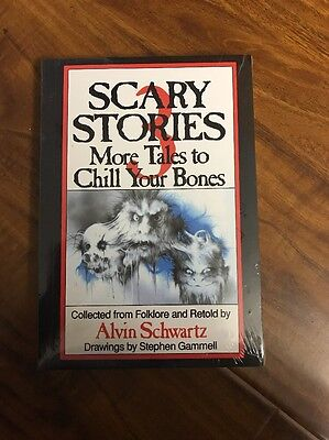 Scary Stories To Tell In The Dark SET( Book1,2,3) by Alvin Schwartz, NEW!