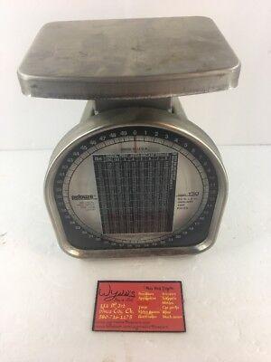 Pelouze Y-50 Postal Scale 50 Lbs X 2 Oz