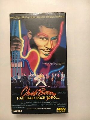 Chuck Berry - Hail! Hail! Rock 'N' Roll (VHS, 1988) Concert  60th Birthday