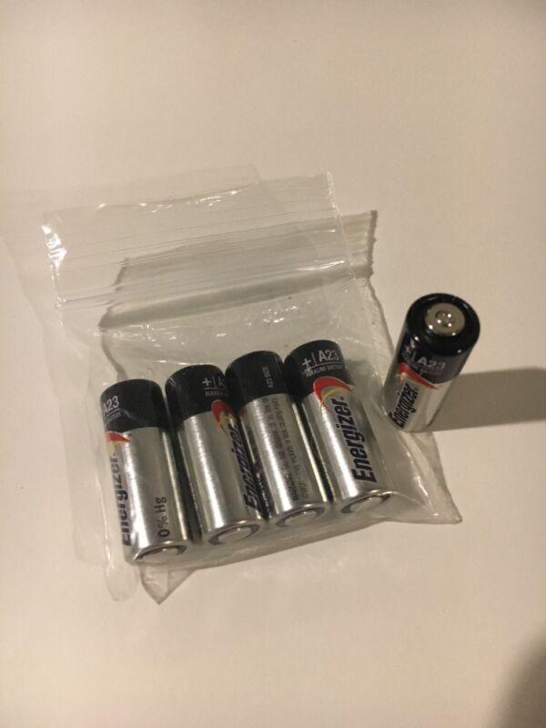 5x Energizer A23 23a 21/23 Mn21 12v **fresh Battery {usa} Free Shipping