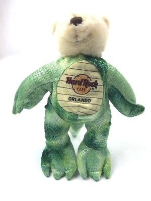 Hard Rock Cafe Herrington Plush Bear Orlando FL Alligator Costume Outfit Gator - Orlando Costumes