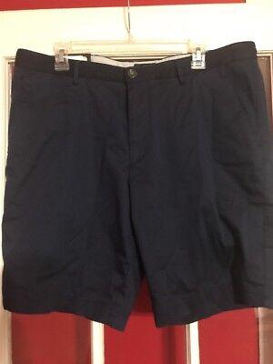 Men's HUGO BOSS Navy Blue Cotton + Shorts 36 R (Euro 52) NWT NEW $145+ -