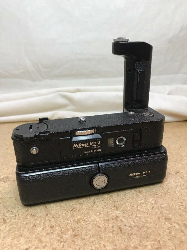 Nikon MB-1 Battery Pack + MD-3 Motor Drive from Japan