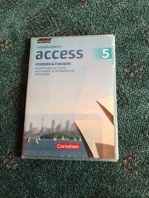 Access 5 Abschlussband. Fördern und Fordern. Kopiervorlagen mit Lösungen