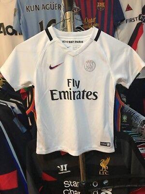 Paris Saint Germain away football shirt size 4-5 years Nike 2015-2016